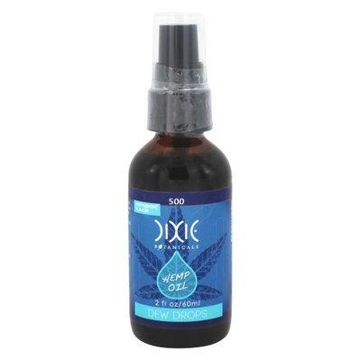 Dixie Botanicals - CBD Hemp Oil Dew Drops Peppermint Flavor 500 mg. - 2 oz.