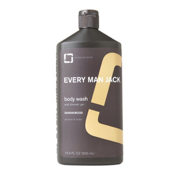 Every Man Jack Body Wash, Sandalwood, 16.9 fl oz