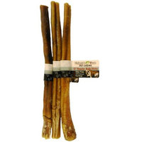 Best Buy Bones - USA Made 3-Pack Odor-Free USA Bully Sticks, 12-Inch - Healthy Pet Chews for Dogs