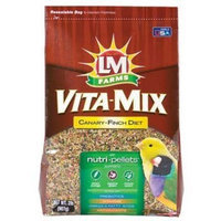 Lm Animal Farms L/M Animal Farms B12681 6-Piece Can/Finch Vita Mix for Bird Cage, 2-Pound