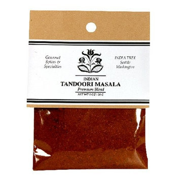 India Tree Tandoori Masala, 1 oz (Pack of 4)