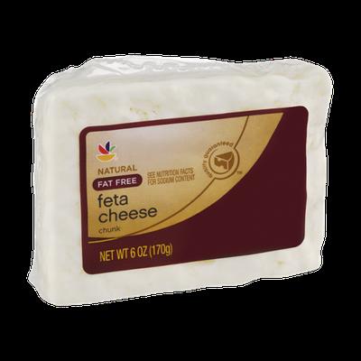 Ahold Feta Cheese Fat Free Chunk