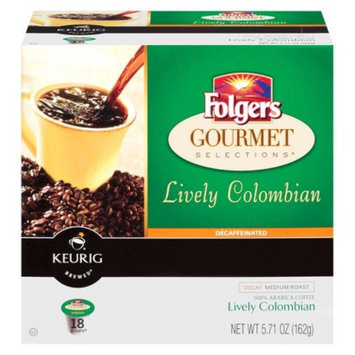 Smucker s Keurig Folgers Decaffeinated Colombian Coffee 18 ct