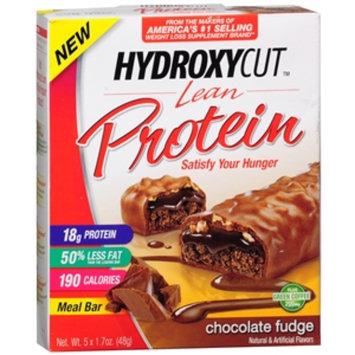 Hydroxycut Lean Protein 18g Meal Bars, Chocolate Fudge, 5 ea