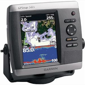 Garmin Gpsmap 541 Series Marine Gps Receiver Gpsmap 541S With Dual-Freq Transducer