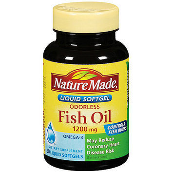 Nature Made Fish Oil Odorless 1200mg Dietary Supplement