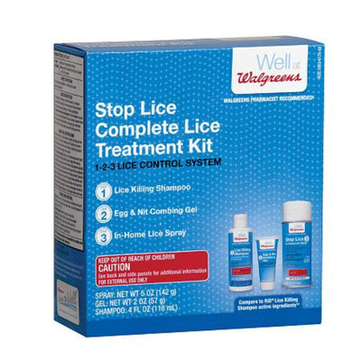 Walgreens Stop Lice Complete Treatment Kit