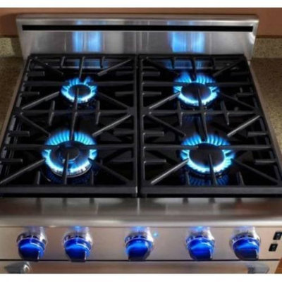 Dacor AERB30G03: Range and Cooktop - Backguards and Island Trim Kits