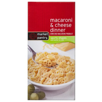 market pantry Market Pantry Sport Shapes Macaroni and Cheese Dinner - 5.5 oz.