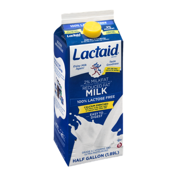 Lactaid 2% Reduced Fat Milk 100% Lactose Free