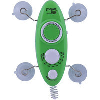 Zadro Water Resistant Shower Bug AM/FM Radio - Green