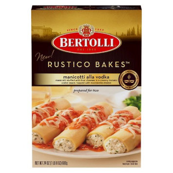 Bertolli® Rusticio Bakes Manicotti Alla Vodka