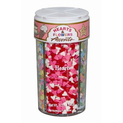 Dean Jacob's Dean Jacobs Hearts and Flowers Accents Large, 4.7-Ounce (Pack of 3)