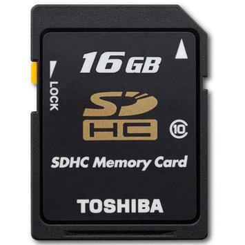 Toshiba Retail Hard Drives 16GB SDHC Card Class 10 Tosh