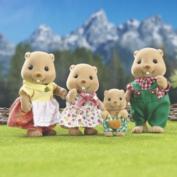 International Playthings Calico Critters Woodbrook Beaver Family