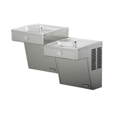 Elkay VRCTLFR8SC Electric Cooler Drinking Fountain Wall Mount; Stainless Steel