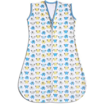 Breathable Baby Wearable Blanket - Baby Neutral (Elephant)