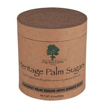 Big Tree Farms Coconut Palm Sugar with Ginger Root, 8.5-Ounce Boxes (Pack of 3)