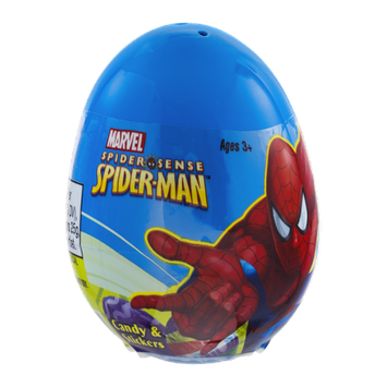 Marvel Spider-Man Egg Candy & Stickers