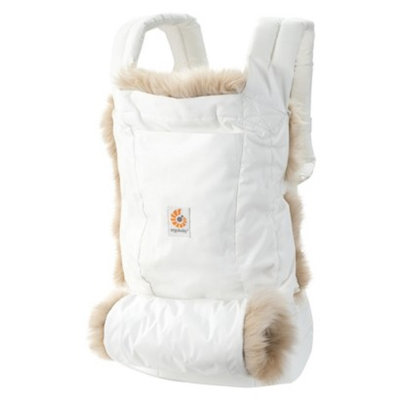 ERGObaby Ergobaby Designer Collection Winter Edition Baby Carrier - White