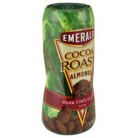 Emerald Cocoa Roast Dark Chocolate Almonds