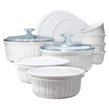 Corningware 14 piece French White Bake Set