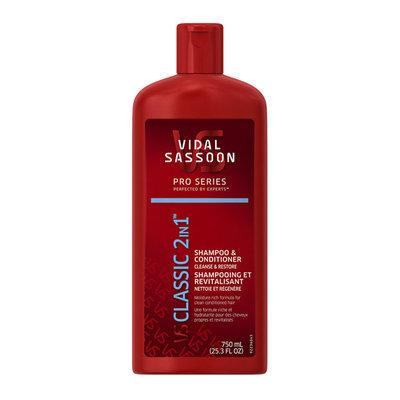 Vidal Sassoon Pro Series Classic 2 in 1 Shampoo & Conditioner