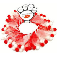 Mirage Dog Supplies Candy Cane Fuzzy Wuzzy Smoocher Large .