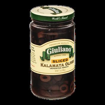 Giuliano Kalamata Olives Sliced