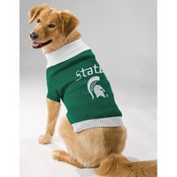 Pets First Inc. Pets First 304443 Michigan State dog sweater Medium