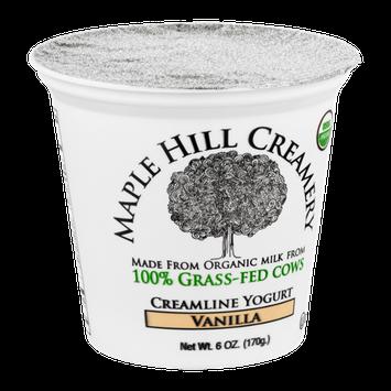 Maple Hill Creamery Creamline Yogurt, 100% Grass-Fed, Organic, Vanilla