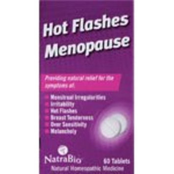 Natra-bio Hot Flashes/Menopause Relief 60 Tabs