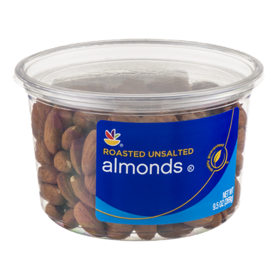 Ahold Almonds Roasted Unsalted