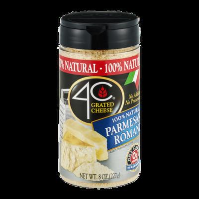 4C Grated Cheese 100% Natural Parmesan & Romano