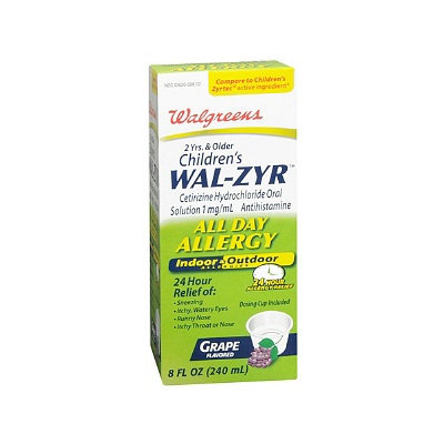 Walgreens Wal-Zyr Children's All Day Allergy Oral Solution