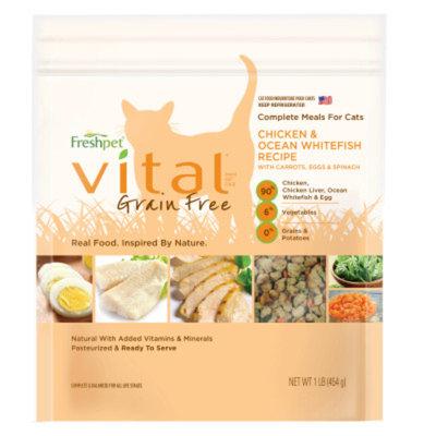 Freshpet Vital Complete Meals Grain Free Adult Cat Food
