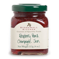 Stonewall Kitchen Raspberry Peach Champagne Jam, 3.75 Ounce (Pack of 6)