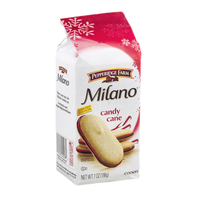Pepperidge Farm Cookies Milano Candy Cane Limited Edition