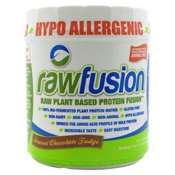 San Rawfusion Plant Based Protein Peanut Chocolate Fudge 15 Servings - Vegan
