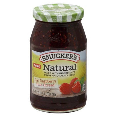 Smucker s Smucker's Natural Raspberry Preserves 17.25 oz