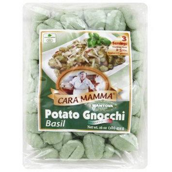 Mantova Cara Mamma Basil Potato Gnocchi Pasta, 16 oz, (Pack of 12)