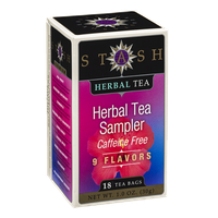 Stash Caffeine Free Herbal Tea Bags Herbal Tea Sampler - 18 CT