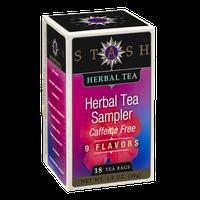 Stash Caffeine Free Herbal Tea Bags Herbal Tea Sampler - 18 CT