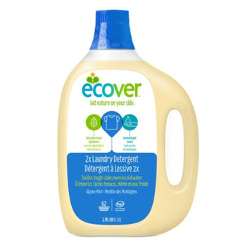 Ecover Liquid Laundry Detergent, 62 Loads, Alpine Mint, 93 fl oz