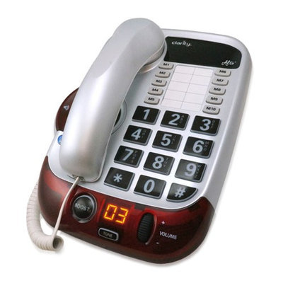 Clarity Alto Big Button Amplified Severe Hearing Loss Corded Phone