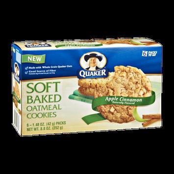 Quaker Life® Apple Cinnamon Soft Baked Oatmeal Cookies