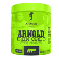 MusclePharm Arnold Schwarzenegger Series Iron CRE3, Fruit Punch, 4.34 oz