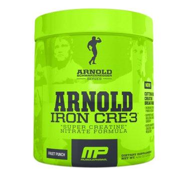 MusclePharm Arnold Schwarzenegger Series Iron CRE3, Fruit Punch, 4.34 oz