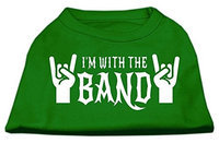 Ahi With the Band Screen Print Shirt Green Med (12)