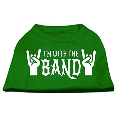 Ahi With the Band Screen Print Shirt Green XS (8)